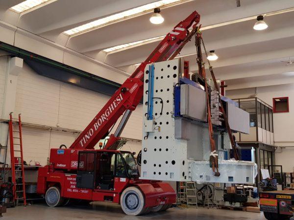 Baker Rigging Machinery Moving Machinery Movers Heavy Equipment Forklift Semi Truck Warehouse Storage Heavy Haul Trucking Transportation