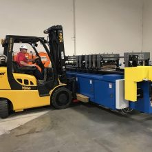 Baker Rigging Machinery Movers heavy equipment print shop warehouse movers AZ southwest forklift